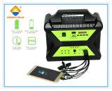 Sistema eléctrico solar portable de la fábrica 100W de China