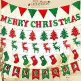 داخليّة عيد ميلاد المسيح زخرفة لباد حرفة