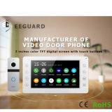 Домашние системы безопасности 7 дюйма память Interphone видео домофон Добро пожаловать система внутренней связи