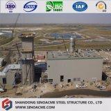 Costruzione pesante prefabbricata diplomata Ce della struttura d'acciaio dei due piani