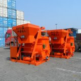 Mezcladora concreta usada en planta del bloque de cemento de Clc