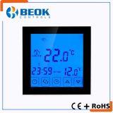 termóstato eléctrico de la calefacción 16A con el regulador grande de la temperatura ambiente de la pantalla táctil