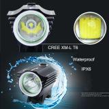 Leistungs-materieller klassischer Aluminiumtyp LED-Fahrrad-Licht