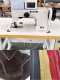 プログラム可能で頑丈で厚い糸のモカシンの装飾用のステッチ機械