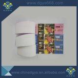 UV coupon de billet de lutte contre la contrefaçon de la voix de gaufrage avec hologramme ligne