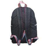 Jean tecido durável casual mochila Saco escolar do aluno