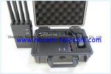 Fasce del Portable 8 per 3G/4G il telefono cellulare, WiFi, GPS, sistema dell'emittente di disturbo di Lojack, nuova 8 emittente di disturbo del Portable dell'emittente di disturbo 3G dell'emittente di disturbo 4G del telefono delle cellule delle fasce 4G Lte 4G Wimax