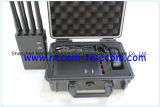 Portable 8 bandas para 3G/4G teléfono móvil, WiFi, GPS, Lojack Jammer, el nuevo sistema de 8 bandas 4G LTE Wimax 4G celular Jammer Jammer 4G 3G Jammer portátil