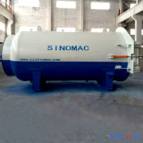 2800X4500mm Cer-anerkannter horizontaler Dampf-Heizung GummiVulcanizating Autoklav