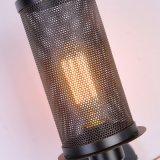 Самый новый ретро промышленный светильник стены с клеткой утюга для крытого