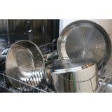 18/10 cuiseur d'acier inoxydable, vaisselle de cuisine, batterie de cuisine avec le couvercle en verre