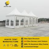 5X5m 백색 PVC 옥외 사건 (SCT)를 위한 방화 효력이 있는 Pagoda 천막