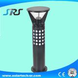 Qualitäts-Solaraluminiumstange-Licht-Garten-Licht mit schwarzem Ende