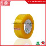 55mic el embalaje adhesivo de acrílico a base de agua del claro BOPP sujeta con cinta adhesiva 120rolls en un cartón