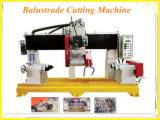 Coluna automática/Pilar/Baluster corrimão/corte/máquina de perfil