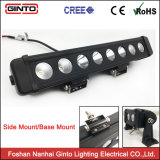 4WD LED Lightbar 트럭을%s 단 하나 줄 10W Offroad LED 바 12V 24V