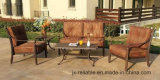 余暇のローズの土地5のパソコン。 雑談のグループの庭の家具