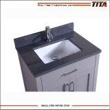 Il solido di alta qualità chiede il Governo di legno di vanità dello specchio della stanza da bagno