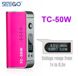 Seego Tc-50W большой мощности аккумуляторной батареи с помощью огромного потенциала хрупкий внешний вид