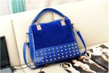 Handbagリベットの流行の女性ショルダー・バッグのトートバック