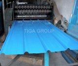 Tôle d'acier de la qualité PPGI/Gi/tuile toiture ondulées colorées en métal