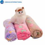 도매 연약한 산호 양털은 침대 애완 동물 매트에 의하여 누비질된 개 담요 애완 동물 부속품을 미행한다
