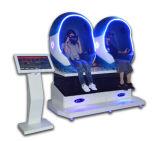 360程度の電気3シート9d Vrの卵の映画館