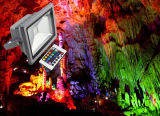 RGB de mazorca IP65 30W 50W proyector LED de colores RGB para jardín resistente al agua,