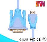 DVI 케이블 Awm 20276에 고품질 금에 의하여 도금되는 HDMI
