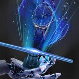 3D que hace publicidad de la feria profesional de la etiqueta engomada del holograma de Machaine