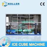 Beständige Leistung 5 Tonnen Eis-Würfel-Maschinen-mit niedrigem Preis