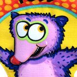 만화 플라스틱 원반 마음에 드는 최고 옥외 박제 동물 개 장난감
