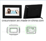 "7"" Pantalla HD del reproductor de anuncios de negocio Digital Photo Frame"