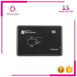 Etiqueta del USB 13.56MHz MIFARE NFC/programa de lectura elegantes sin contacto de la tarjeta RFID