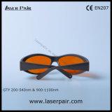 protección de ojo del laser de las gafas de seguridad de laser 532nm y 1064nm para 2 la línea YAG y Ktp contra Laserpair