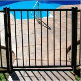 黒色火薬の塗られた電流を通された鋼鉄庭ゲート