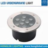 Indicatore luminoso sotterraneo caldo di vendite 7W IP67 LED di nuovo arrivo