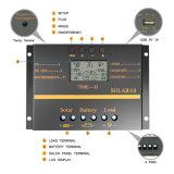 charge d'affichage à cristaux liquides de régulateur de panneau solaire de 24V/12V 60AMP/contrôleur S60 de Dicharge