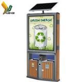 Nouveau modèle Smart Affichage LED solaire publicité vidéo Jouer dust bin