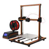 Grootte 300X300X400mm van het Af:drukken van de hoge Precisie Grote de Gemakkelijke 3D Printer van de Assemblage E12