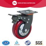 Chasse lourde fixe de couleur de roue rousse d'unité centrale