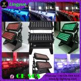 Im Freien 72X10W RGBW 4in1 Wand-Unterlegscheibe-Licht der Stadt-Farben-LED