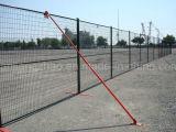 Hot-DIP гальванизировать и загородка Канады порошка Coated временно, загородка безопасности (XMR30)