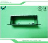 Schwarzes anodisierter Aluminium CNC, der das Prägen dreht