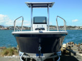 Le bateau de fibre de verre de bateau de Panga de Liya 19feet décortique le canot automobile