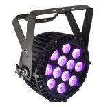 Wasserdichte Disco-Stadiums-Ereignis-Beleuchtung DES LED-NENNWERT Licht-RGBW 12X10W
