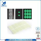 PVC adhesivo impermeable troqueladas Etiqueta luminosa
