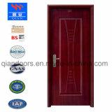 耐火性のボードが付いている黒いクルミのベニヤの鋼鉄ドア