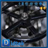 Klep van de Bol van de Test van Didtek API598 de Roestvrij staal Vastgeklemde