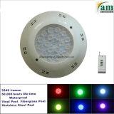 Beleuchtung des Swimmingpool-Unterwasserplastiklampen-und Swimmingpool-LED